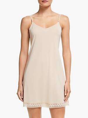 John Lewis & Partners Serena Knee Length Slip