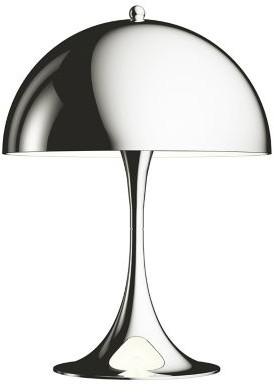 Louis Poulsen Panthella Mini LED Table Lamp in Chrome