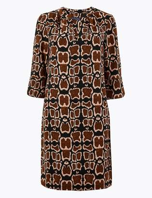 M&S CollectionMarks and Spencer PETITE Animal Print Shift Dress