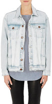 Current/Elliott Women's Denim Trucker Jacket