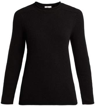 The Row Rickie Cashmere Sweater - Womens - Black