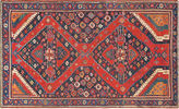 One Kings Lane Vintage Antique Caucasian Karabagh, 4'6 x 7'9