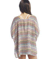 Wet Seal Boho Print Short-Sleeve Kimono