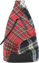 Loewe Anton tartan backpack