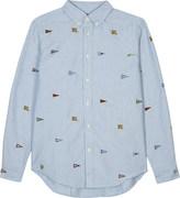 Ralph Lauren Appliqué logo long sleeve shirt 6-14 years