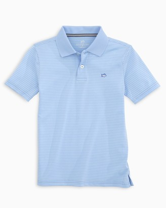 Southern Tide Boys Roster Striped Performance Polo Shirt