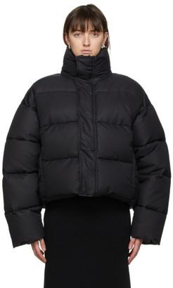 Balenciaga Black BB Puffer Jacket