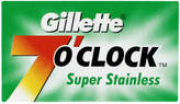 Gillette 7 O'Clock Super Stainless Blades by 5 Blades)