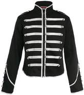 Hell Bunny Jawbreaker Men's Steampunk MCR Military Parade Jacket