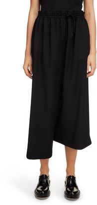 Y's by Yohji Yamamoto Asymmetrical Wool Gabardine Pants