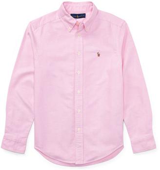 Ralph Lauren Kids Cotton Oxford Sport Shirt, Size S-XL