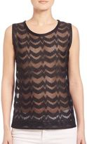 Missoni Sheer Knit Shell