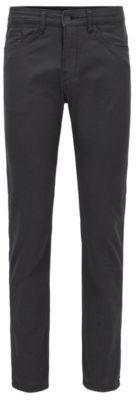 HUGO BOSS Slim-fit jeans in structured stretch denim