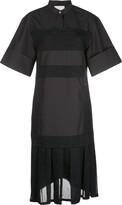 3.1 Phillip Lim Pleated-Hem Midi Dress