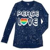 Flowers by Zoe Girl's Peace and Love Top