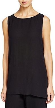 Eileen Fisher Petites Eileen Fisher System Petite High/Low Silk Tank