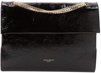 Nina Ricci Black Patent leather Handbags