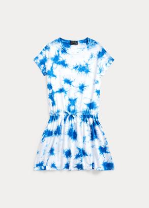 Ralph Lauren Tie-Dye Cotton Jersey Dress