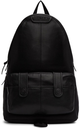 Diesel Black Montekkio Backpack