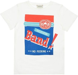 Gucci Printed Cotton Jersey T-Shirt