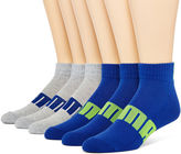 Puma Mens 6-pk. Quarter Socks