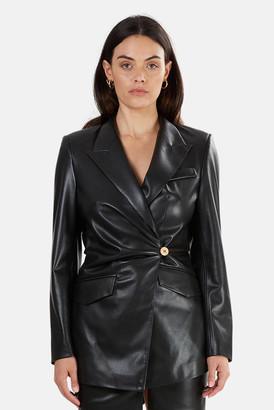 Nanushka Blair Vegan Leather Blazer