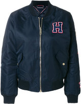 Tommy Hilfiger zipped bomber jacket