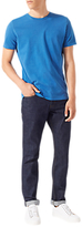 Jigsaw Garment Dye T-shirt, Bright Blue