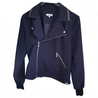 Jean Paul Gaultier Blue Cotton Jacket for Women