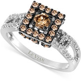 LeVian Le Vian Chocolatier® Diamond Ring (9/10 ct. t.w.) in 14k White Gold