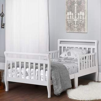 Dream On Me White Sleigh Toddler Bed