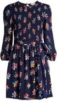 Shoshanna Walker Floral Print Mini Dress