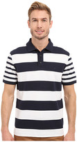 Nautica Short Sleeve Bold Multi Stripe