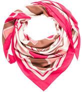 Hermes Les Coupés Cashmere Silk Shawl