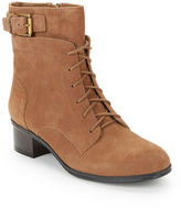 Bandolino Cloviis Suede Lace-Up Booties