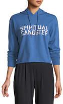 Spiritual Gangster SG Varsity Crop Hoodie