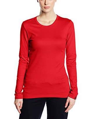 Trigema Unisex Long-Sleeved Top Red Rot (kirsch 036)