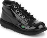 Kickers Kick Hi Patent Boots 7-9 Years