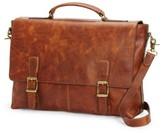 Frye 'Logan' Leather Briefcase - Brown