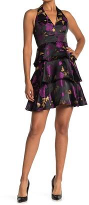 Rachel Roy Suzette Jacquard Mini Dress