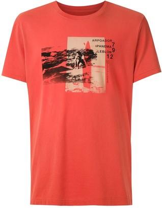 OSKLEN Vintage Surf Points print T-shirt