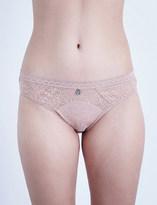 Implicite Intense stretch-lace bikini briefs