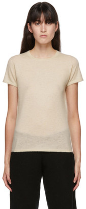 Frenckenberger Off-White Cashmere Perfect T-Shirt