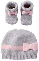 Kate Spade cap & bootie gift set (Baby Girls)