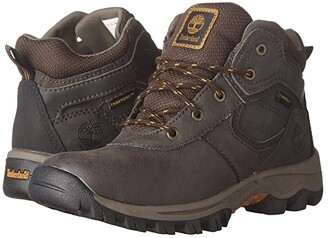 Timberland Kids Mt. Maddsen Mid Waterproof (Little Kid) (Brown) Boys Shoes