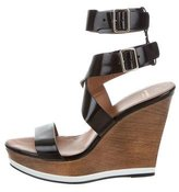Givenchy Platform Wedge Sandals
