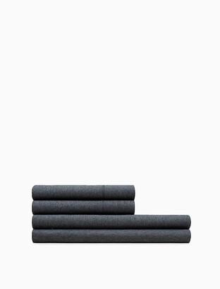 Calvin Klein Modern Cotton - Body Flat Sheet In Charcoal