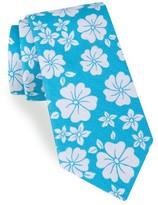 Ted Baker Men's Hibiscus Floral Cotton & Silk Tie