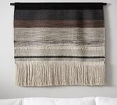 Pottery Barn Handwoven Fiber Art Panel