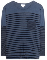 Velvet Ario striped top